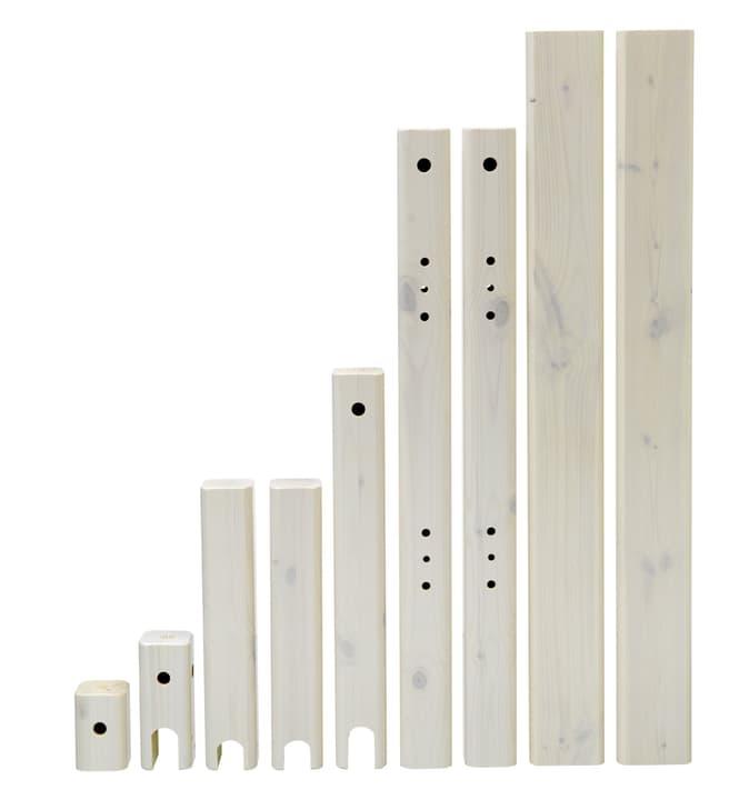 CLASSIC Pfosten für Kombibett Flexa 404872500000 Grösse B: 100.0 cm x T: 7.0 cm x H: 76.0 cm Farbe White Wash Bild Nr. 1