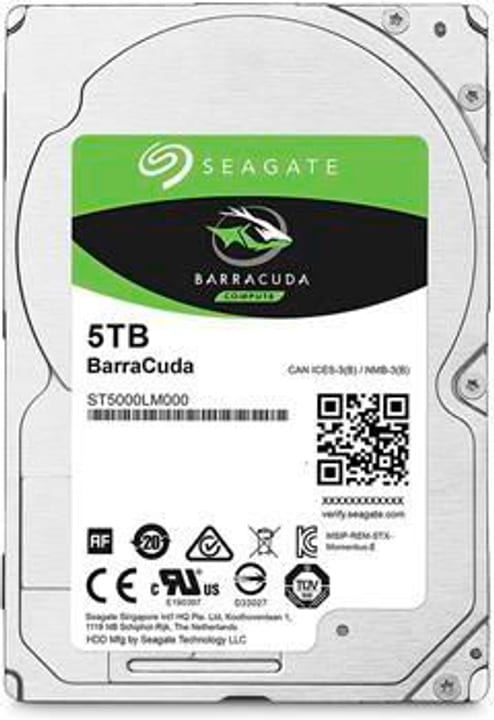 "BarraCuda 5 TB 2.5"" Disque Dur Interne HDD ASUSTOR 785300143323 Photo no. 1"