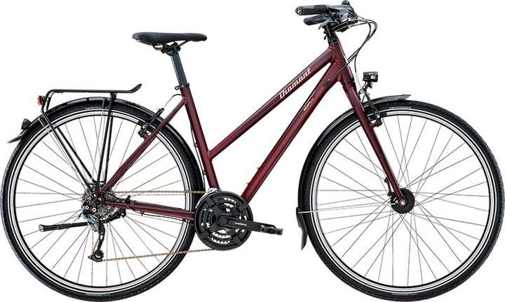 """Elan Damen 28"""" Trekkingbike Diamant 464804105088 Farbe bordeaux Rahmengrösse 50 Bild Nr. 1"""