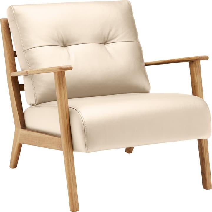 FAUST Sessel (Eton) 402467007012 Farbe Creme Grösse B: 83.0 cm x T: 76.0 cm x H: 80.0 cm Bild Nr. 1