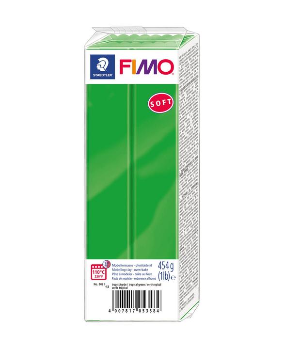 FIMO bloc grand, vert tropical Fimo 666930600000 Photo no. 1