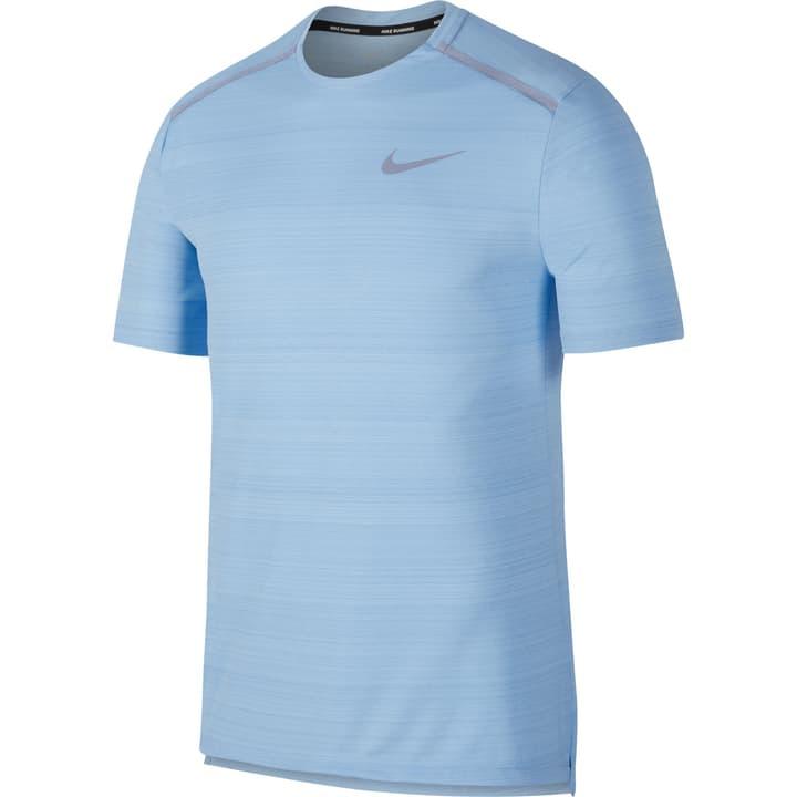 Dry Miler Top SS Shirt pour homme Nike 470177400341 Colore blu chiaro Taglie S N. figura 1