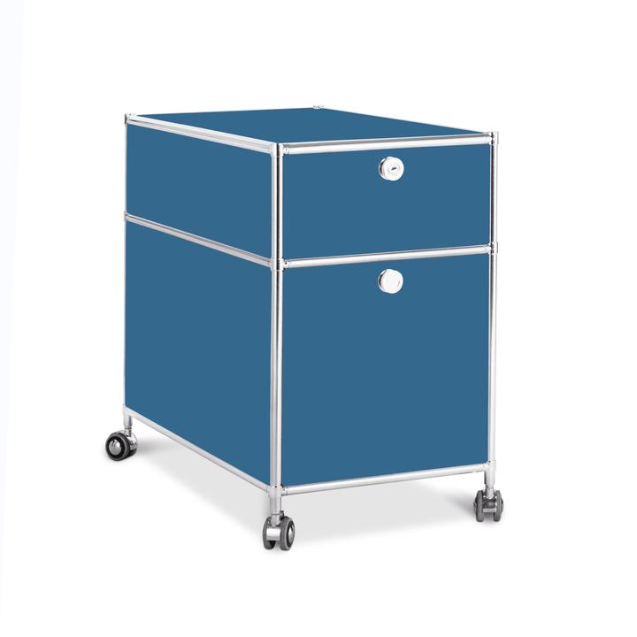 QUADRO Cassettiera 364016400000 Colore Blu Dimensioni L: 42.0 cm x P: 77.0 cm x A: 67.5 cm N. figura 1