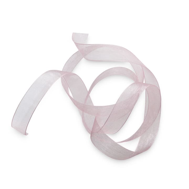 ORGANSA ruban 15 mm  x 5 m 386183700000 Dimensions L: 500.0 cm x P: 1.5 cm x H: 0.1 cm Couleur Rose Photo no. 1
