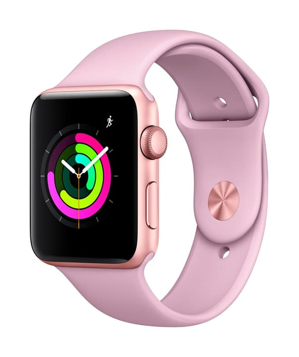 Watch Series 3 GPS 42mm gold/pinksand Apple 785300129989 Photo no. 1