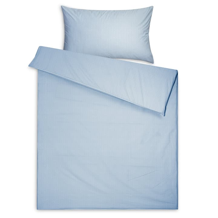 OZEANA Taie d'oreiller percale 376072310640 Dimensions L: 65.0 cm x L: 65.0 cm Couleur Bleu Photo no. 1