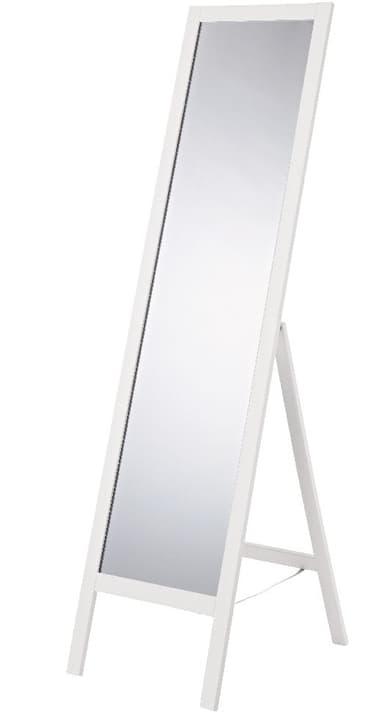 BRISTOL Standspiegel 407101100010 Grösse B: 45.0 cm x T: 40.0 cm x H: 170.0 cm Farbe Weiss Bild Nr. 1