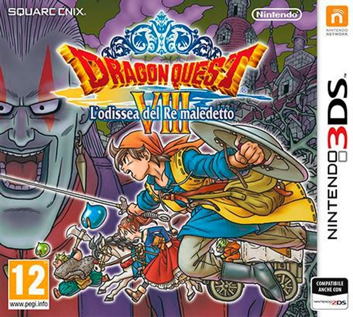 3DS - Dragon Quest VIII: L'odissea del Re maledetto 785300121659 N. figura 1