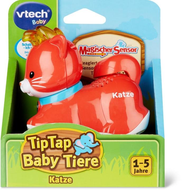 Tip Tap Baby Tiere Katze (D) 747307490000 Lengua Tedesco N. figura 1
