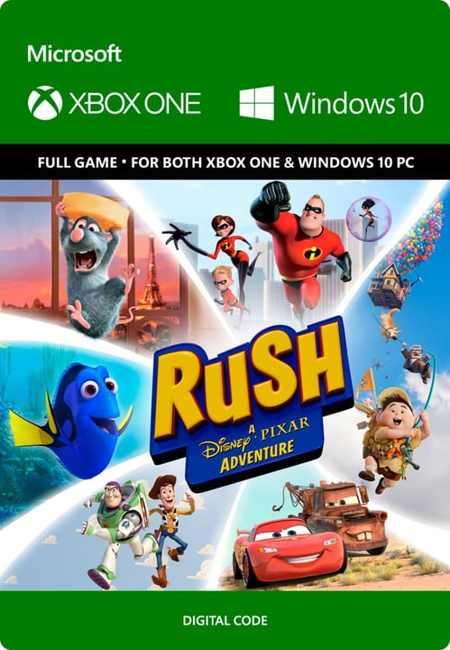 Xbox One - Rush: A Disney Pixar Adventure Digitale (ESD) 785300136373 N. figura 1