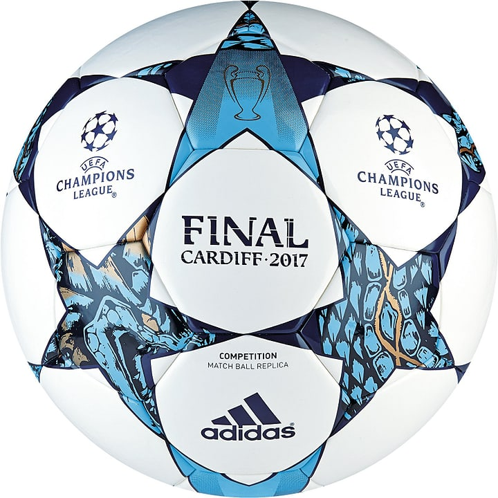 UCL Finale Cardiff Competition 5 Fussball Adidas 461921000510 Farbe weiss Grösse 5 Bild-Nr. 1