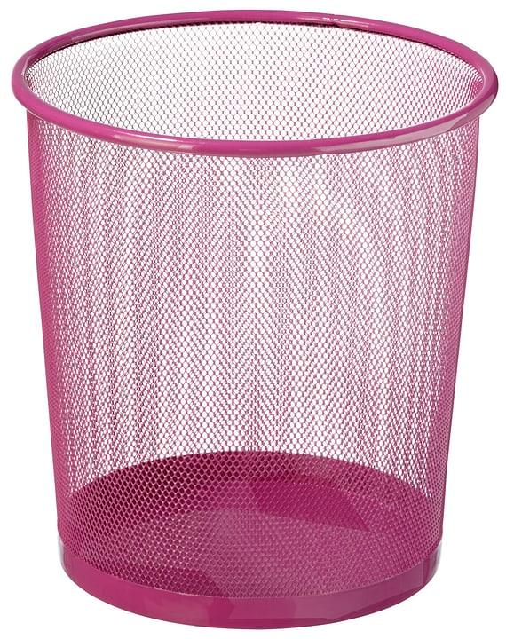 MESH Papierkorb 440632202836 Farbe Pink Grösse H: 28.0 cm Bild Nr. 1