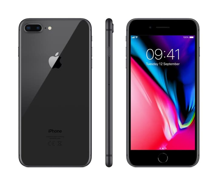 iPhone 8 Plus 64GB Space Grey Smartphone Apple 794624500000 Photo no. 1