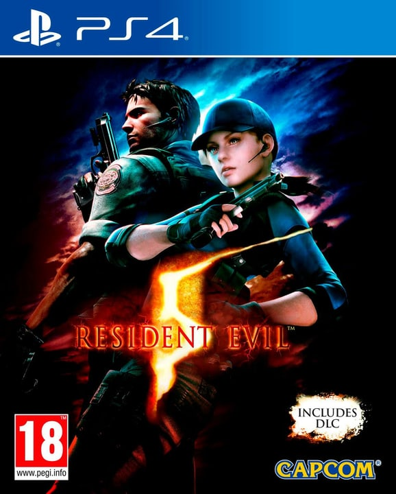 PS4 - Resident Evil 5 HD Box 785300121898 N. figura 1
