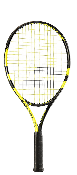 Nadal Jr. 21 Raquette de tennis Babolat 491546202150 Tailles des poignées 21 Couleur jaune Photo no. 1