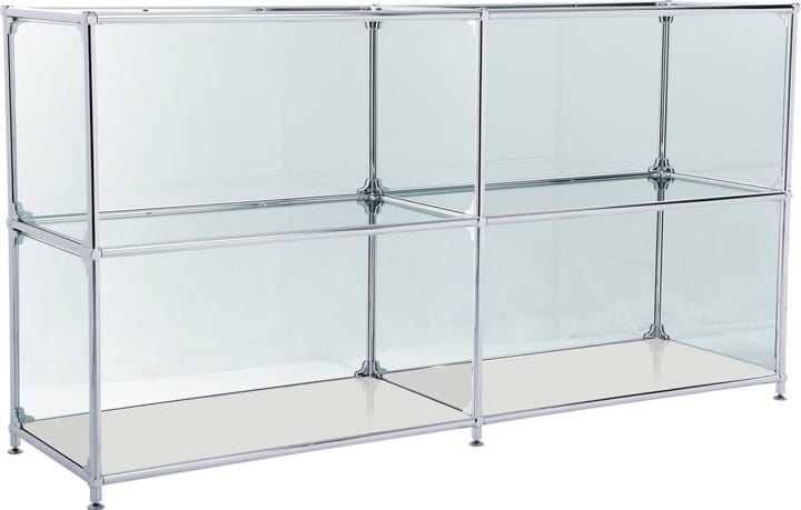 FLEXCUBE Buffet 401814220281 Dimensions L: 152.0 cm x P: 40.0 cm x H: 80.5 cm Couleur Gris clair Photo no. 1