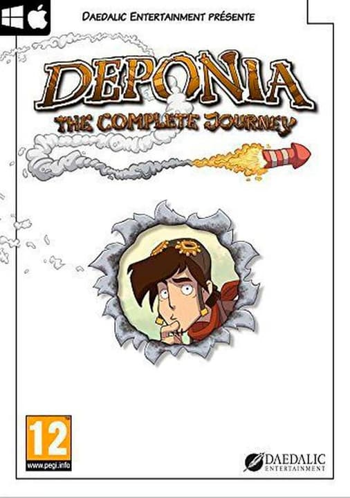 PC - Deponia - The Complete Journey [DVD] (F) Physisch (Box) 785300135840 Bild Nr. 1
