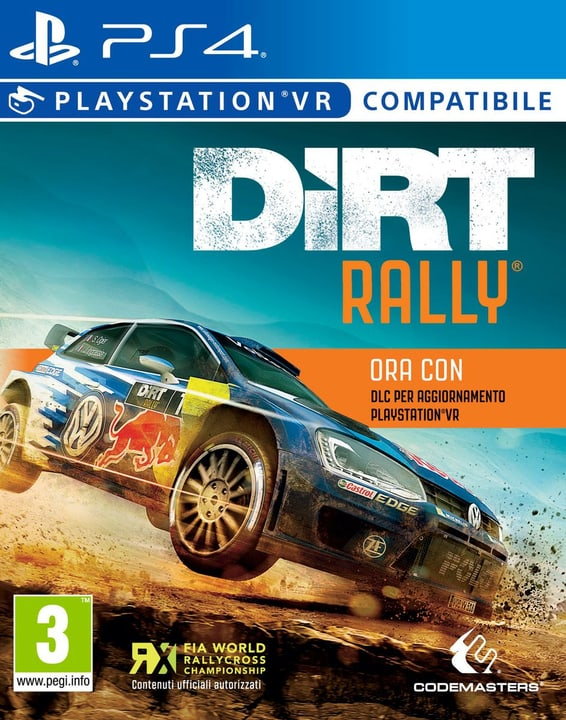 PS4 - DiRT Rally plus VR Upgrade Physique (Box) 785300121757 Photo no. 1