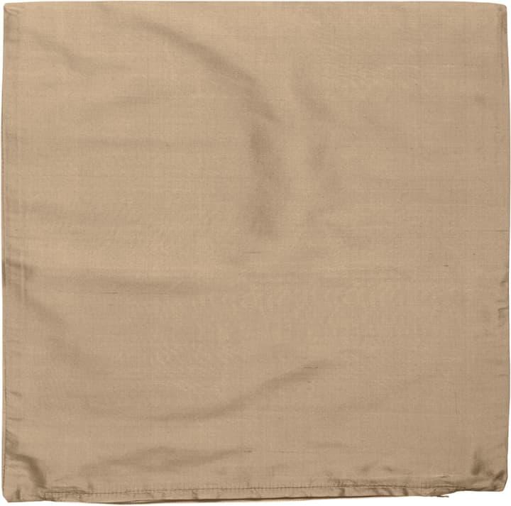 DELIA Zierkissenhülle 450725740069 Farbe Taupe Grösse B: 40.0 cm x H: 40.0 cm Bild Nr. 1