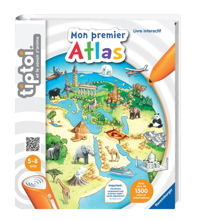 Tiptoi Mon premier atlas (F) 746971490100 Lengua Francese N. figura 1