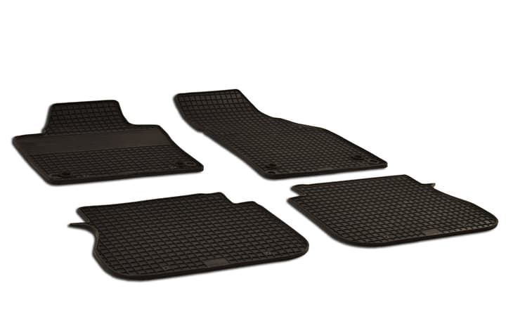 Set de tapis en caoutchouc NISSAN Tapis de voiture WALSER 620574800000 Photo no. 1
