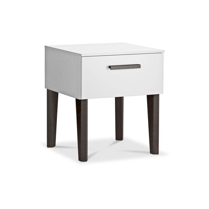 FLORENZ Table de nuit 364200645203 Dimensions L: 41.5 cm x P: 41.0 cm x H: 48.0 cm Couleur Blanc Photo no. 1