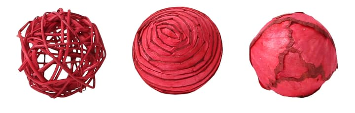Boules Deco rouge, 6cm, 3pcs. Do it + Garden 656546700003 Couleur Rouge Taille ø: 60.0 mm Photo no. 1