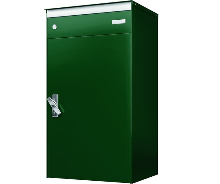 Briefkasten mit Paketschliessfach s:box17 Moosgrün/Moosgrün Stebler 604029700000 Bild Nr. 1