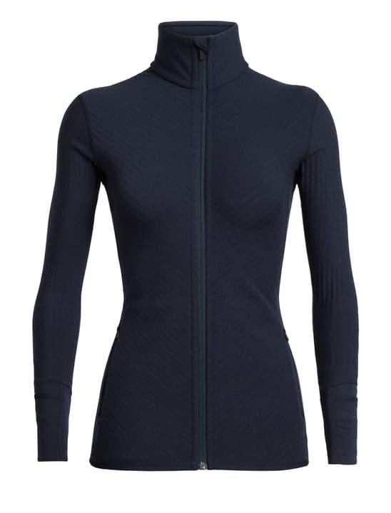 Descender Veste polaire pour femme Icebreaker 465703900443 Couleur bleu marine Taille M Photo no. 1