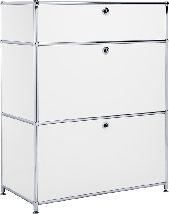 FLEXCUBE Buffet 401814710210 Dimensions L: 77.5 cm x P: 40.0 cm x H: 100.0 cm Couleur Blanc Photo no. 1