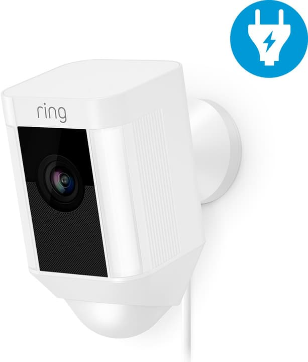 Ring Spotlight Cam (con cavo) bianco 614140600000 N. figura 1