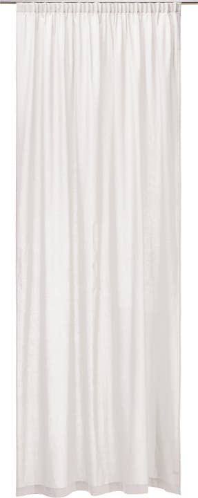 CANDELA Fertigvorhang blickdicht 430271521810 Farbe Weiss Grösse B: 150.0 cm x H: 260.0 cm Bild Nr. 1