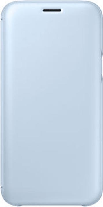 Wallet Cover blau Hülle Samsung 798089100000 Bild Nr. 1