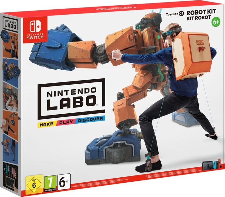 Switch - Nintendo Labo: Toy-Con 02 Robo-Set (D/F/I) Fisico (Box) 785300132409 N. figura 1