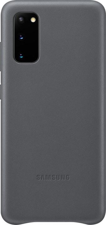 Leather Hard-Cover Grau Hülle Samsung 785300151205 Bild Nr. 1