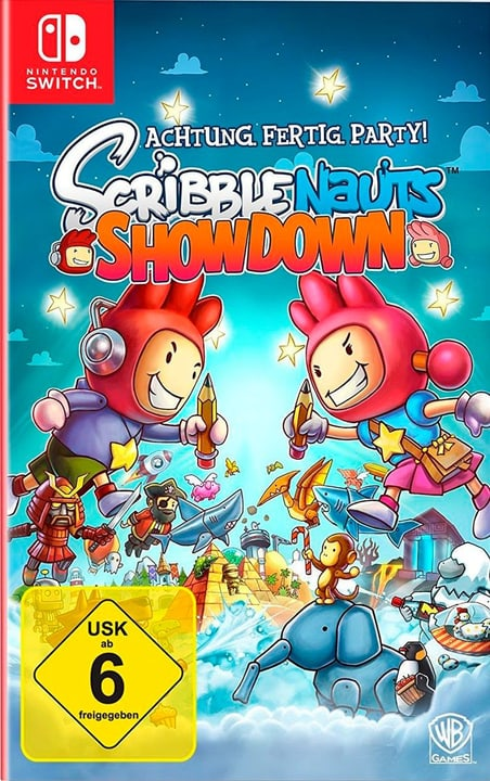 Switch - Scribblenauts Showdown (D/F) 785300132271 N. figura 1