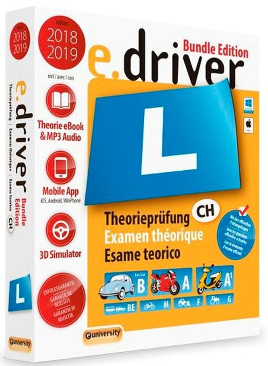 e.driver 2018/2019 Bundle Edition (D/F/I) Physique (Box) euniversity 785300130276 Photo no. 1