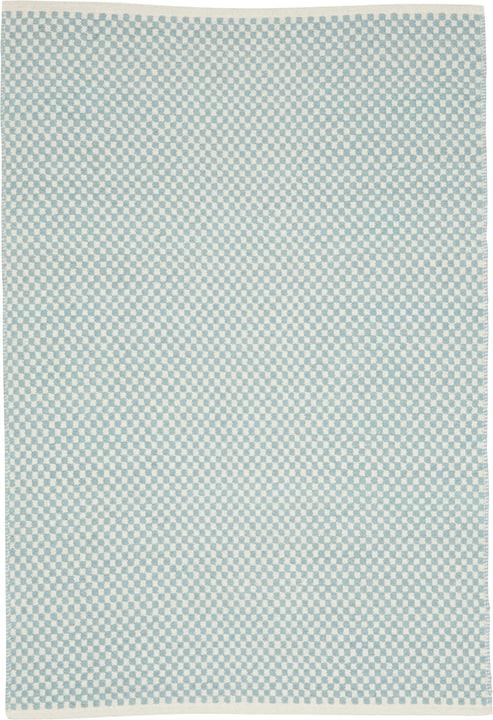 SAVERIA Teppich 411986106041 Farbe hellblau Grösse B: 60.0 cm x T: 90.0 cm Bild Nr. 1
