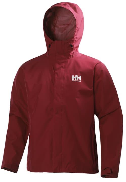 Seven J Jacket Veste de pluie pour homme Helly Hansen 498422700330 Couleur rouge Taille S Photo no. 1