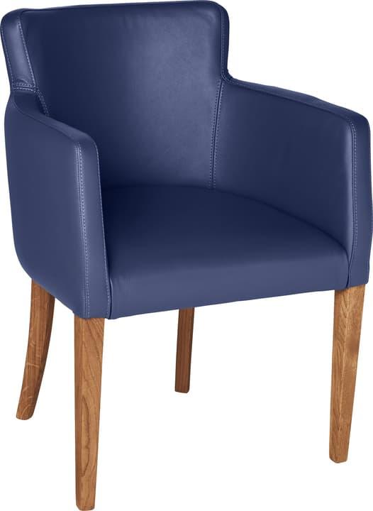 MORISANO Chaise 402358200040 Dimensions L: 56.0 cm x P: 46.0 cm x H: 79.0 cm Couleur Bleu Photo no. 1