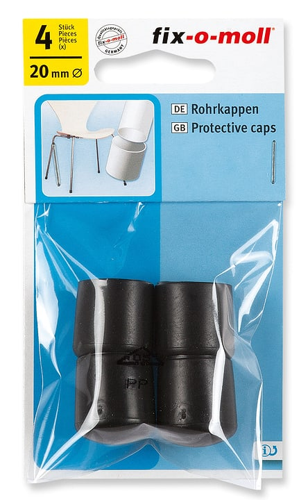 Tappi per tubi Ø 20 mm 4 x Fix-O-Moll 607085500000 N. figura 1