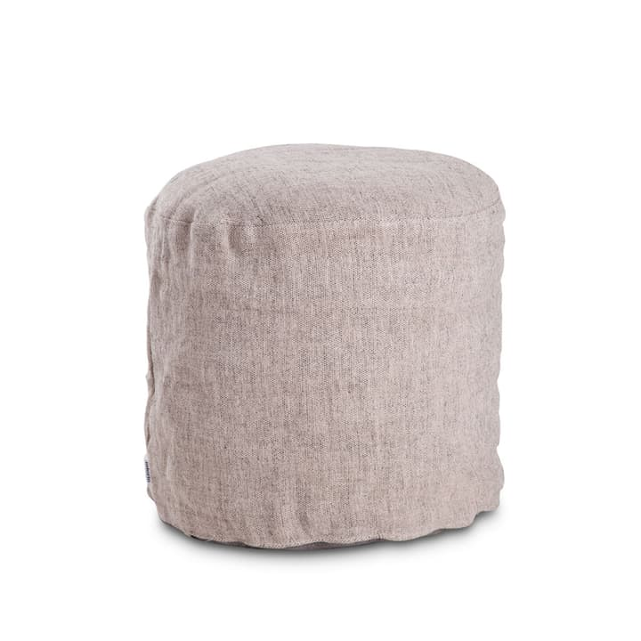 KINGSTON Pouf 360050166601 Couleur Gris Dimensions L: 50.0 cm x P: 50.0 cm x H: 45.0 cm Photo no. 1