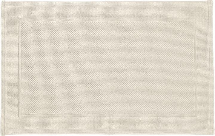 NAVE Tapis en tissu éponge 450854721511 Couleur Écru Dimensions L: 50.0 cm x H: 80.0 cm Photo no. 1