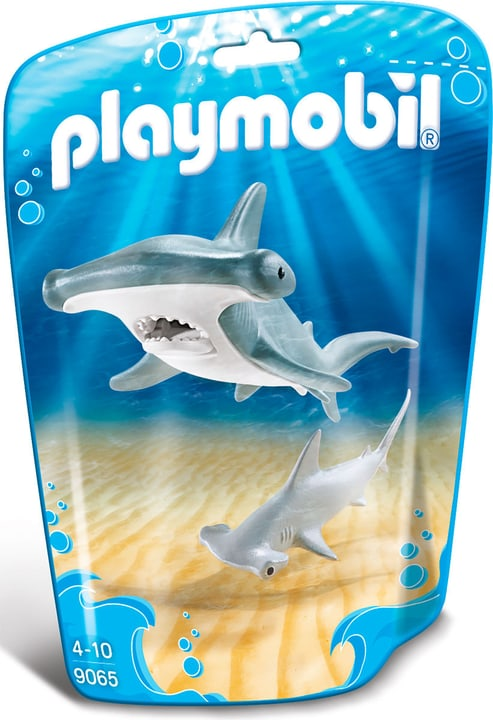Playmobil Family Fun Requin-marteau et son petit 9065 746087300000 Photo no. 1