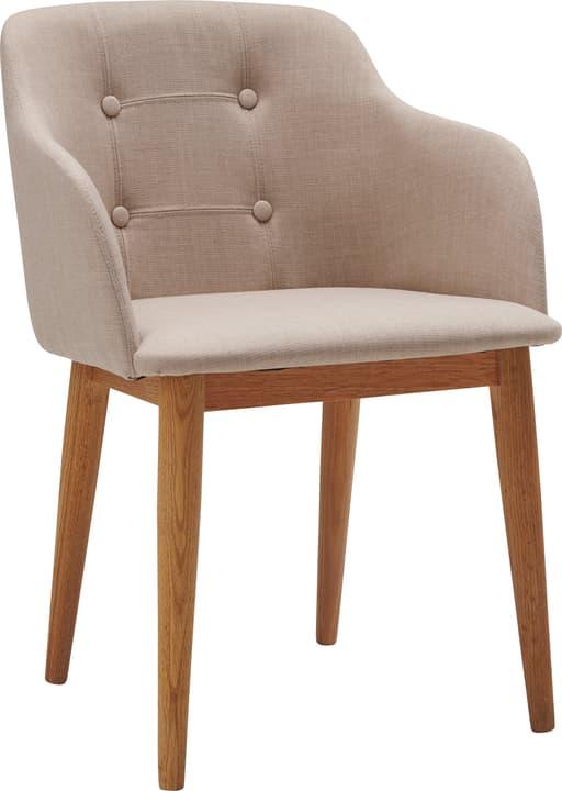 LORETTI Stuhl 402352900074 Grösse B: 53.0 cm x T: 54.0 cm x H: 77.0 cm Farbe Beige Bild Nr. 1