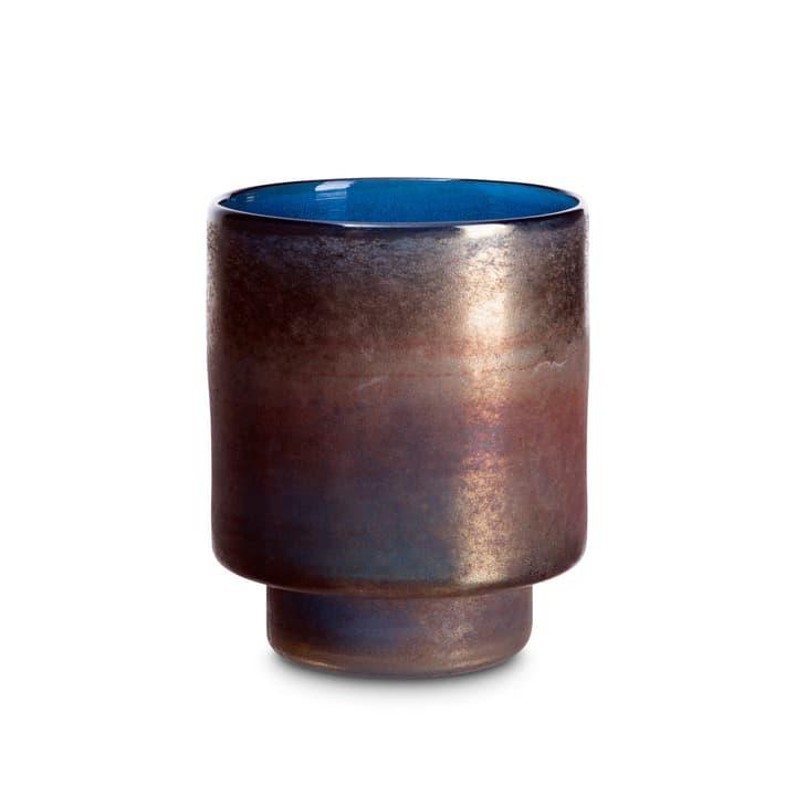 SINA Portacandele scaldavivande 396078200000 Dimensioni L: 15.0 cm x P: 15.0 cm x A: 18.0 cm Colore Blu N. figura 1
