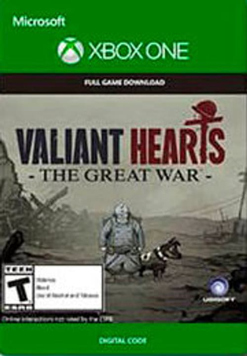 Xbox One - Valiant Hearts: The Great War Numérique (ESD) 785300135693 Photo no. 1