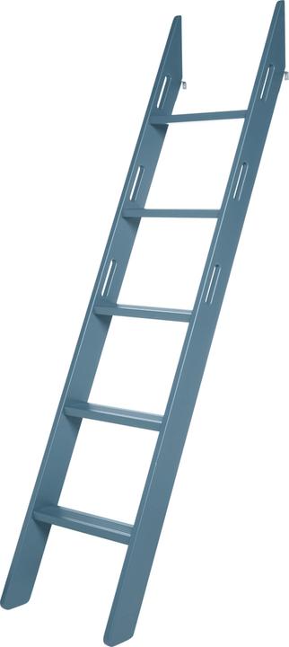 FLEXA POPSICLE Échelle pour lit surélevé Flexa 404974000000 Dimensions L: 11.4 cm x P: 11.8 cm x H: 213.5 cm Couleur Bleu Photo no. 1