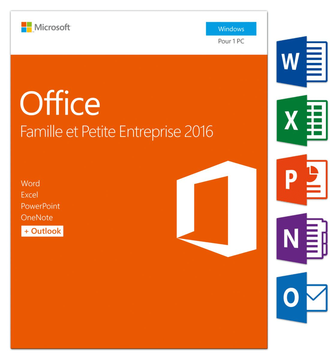 PC - Office Home and Business 2016 Physique (Box) Microsoft 785300121053 Photo no. 1