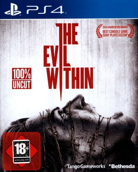 PS4 - The Evil Within Fisico (Box) 785300122018 N. figura 1